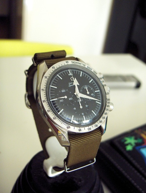 Omega Speedmaster 1957 Replica 145.0222 / 3594.50. Pic by WYB