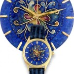 Cloisonne enamel 1950 Omega by Antiquorum