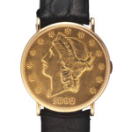 1980′s Piaget 20 Dollar Coin Watch by Antiquorum