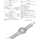 Omega Speedmaster X-33 Design Drawing Patent