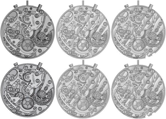 Calibers 861 - 863 - 866 - 1861 - 1863 - 1866