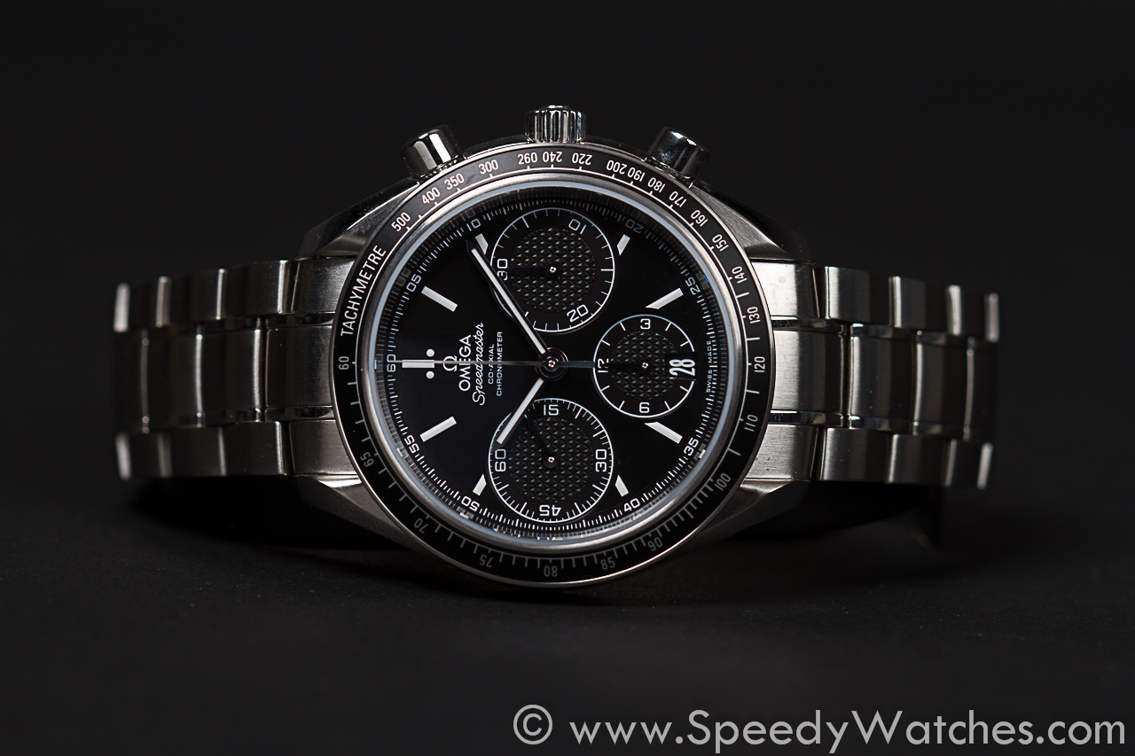 Omega Authorized Dealer >> Omega Speedmaster Co-Axial Racing 40mm 326.30.40.50.01.001 - SpeedyWatches