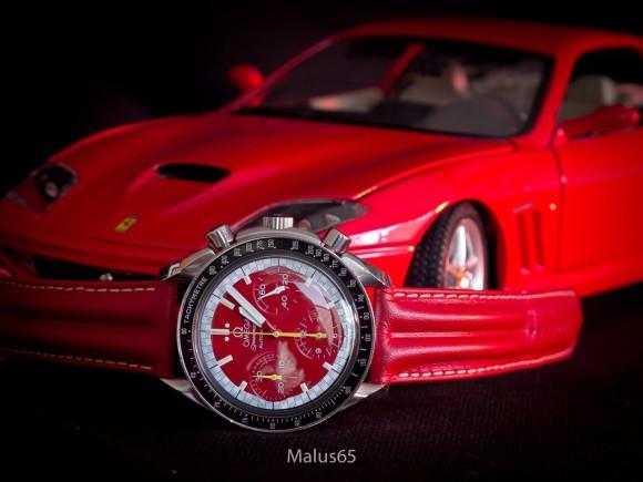 Omega Speedmaster Racing 'Schumacher' Red 175.0032 / 3810.61
