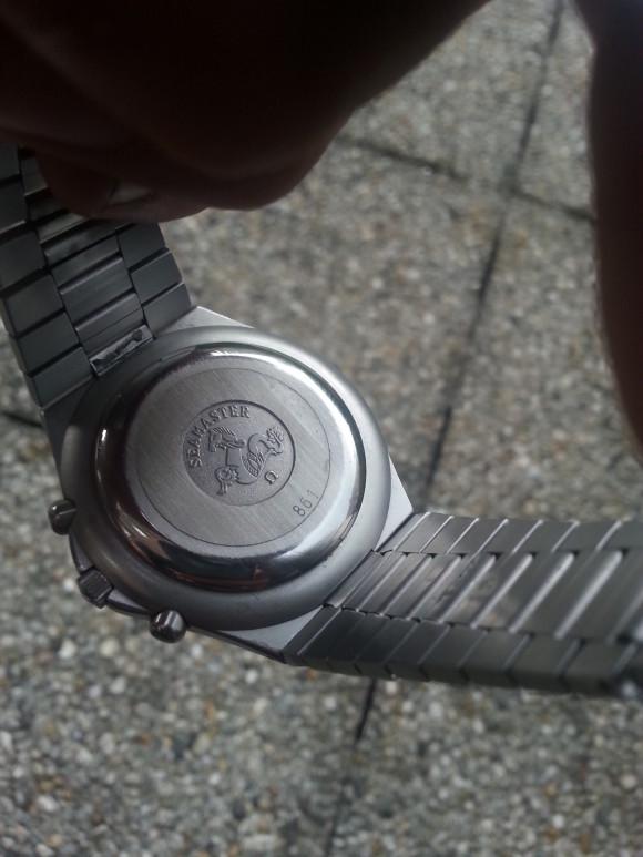 Omega Speedmaster 'Teutonic' 345.0803
