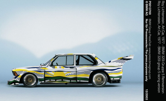 BMW Art Car 320i Roy Lichtenstein