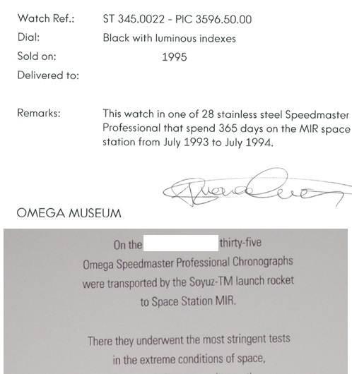 Omega Speedmaster Professional MIR 3596.50.00