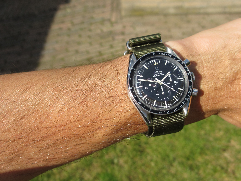 Wristshot Omega Speedmaster Professional 145 012 Nato