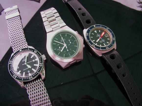 Omega Seamaster 300 WatchCo, Speedmaster Teutonic, Seamaster 200
