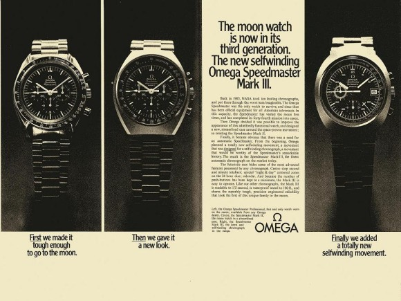 1972 Omega Publicity for Mark Series