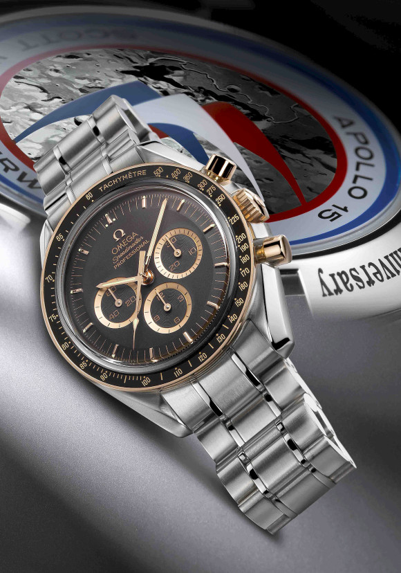 Omega Speedmaster Professional Apollo XV 35th Anniversary 3366.51.00