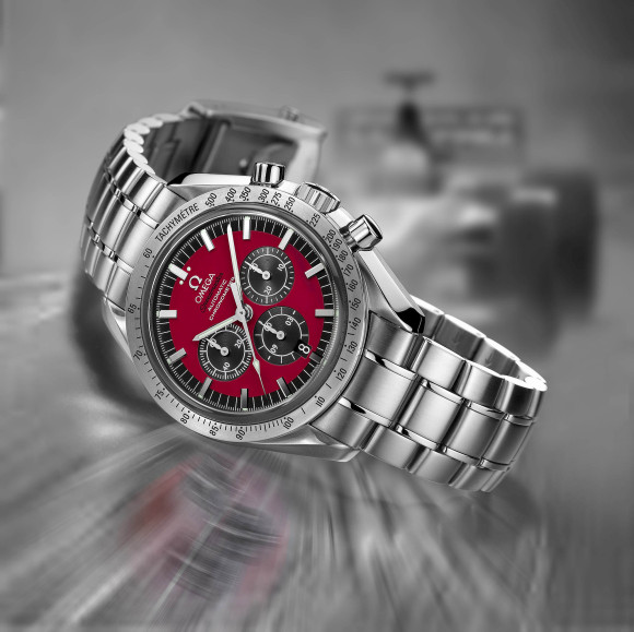 Omega Speedmaster Schumacher The Legend 3506.61.00