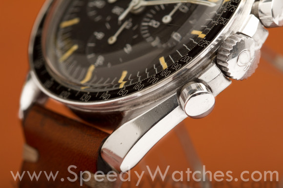 Omega Speedmaster Professional 105.012 CB case facet