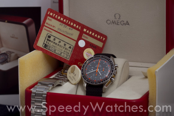 Omega Speedmaster Professional Racing Japan 3750.40.00