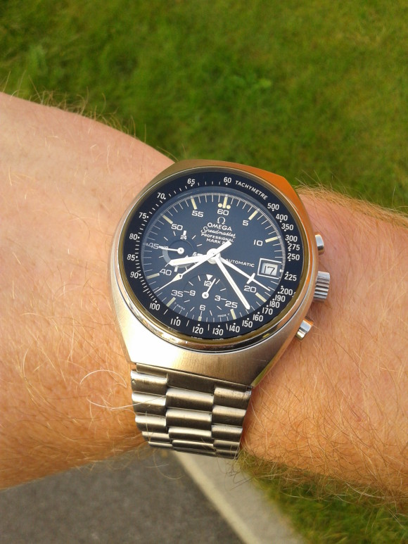 Bart's 1972 Omega Speedmaster Mark IV 176.009