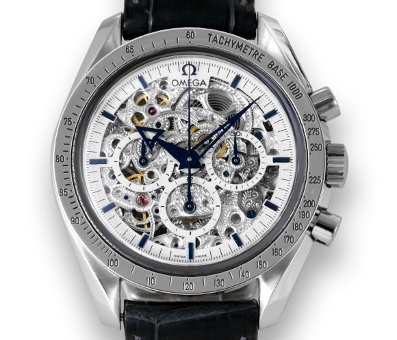 Omega Speedmaster Broad Arrow Skeleton AT 178.0024
