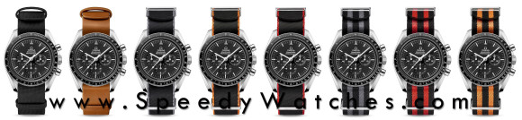 Omega Speedmaster Professional on OEM NATO straps (click for full size)