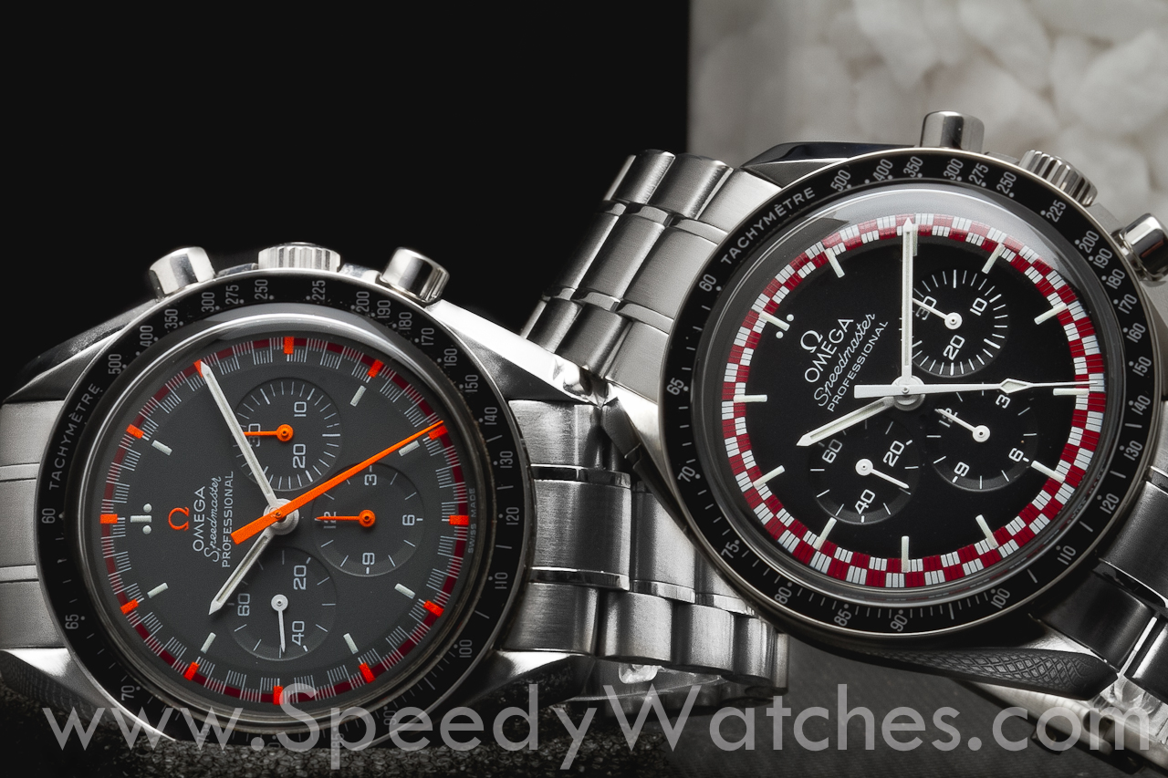 omega center of the watches speedmaster limited edition dark moon side c