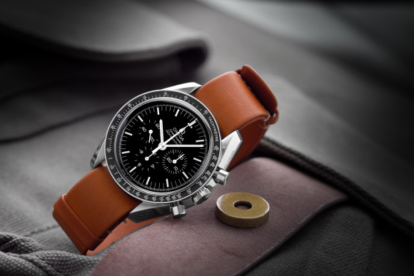 Omega Speedmaster Professional on Leather NATO