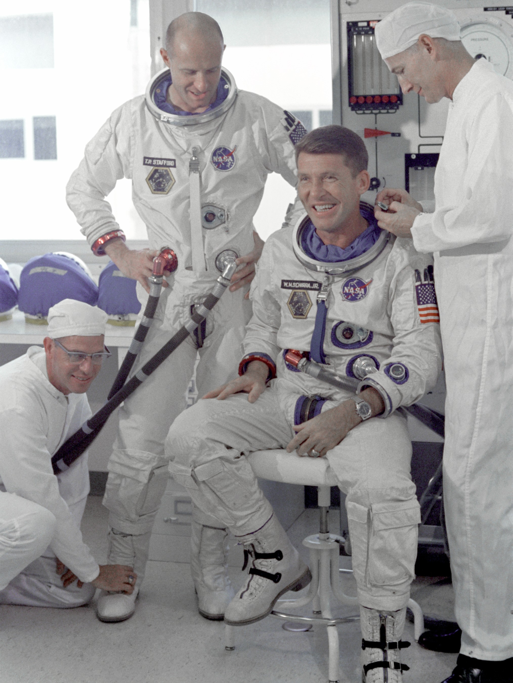 Gemini-VI-commander-Walter-Schirra-with-