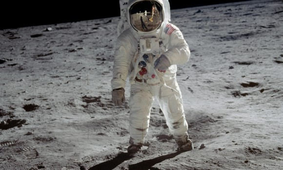 Apollo 11 - Buzz Aldrin on the Moon with Omega Speedmaster
