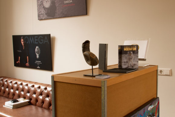 Ace Jewelers Omega Speedmaster Pop Up Store Gallery Lounge The Moon Room Amsterdam-6