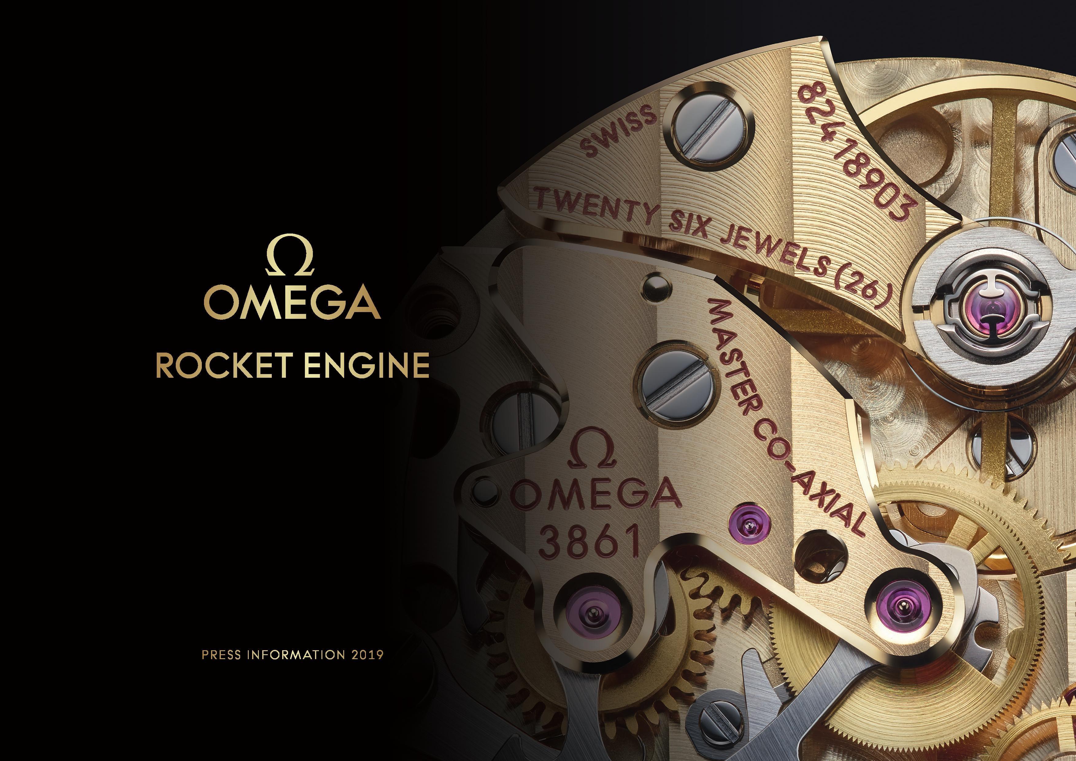 Press Release: Omega Caliber 3861 – Rocket Engine